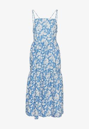 Denní šaty - blue flower