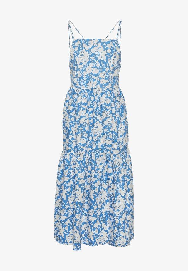 Day dress - blue flower
