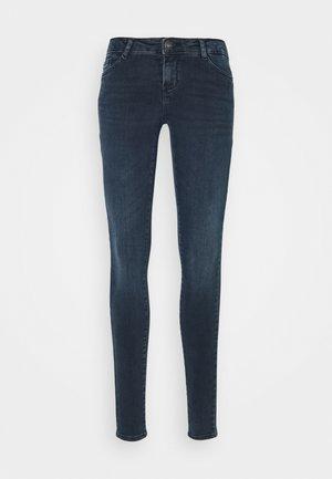 NMEVE SKINNY  - Jeans Skinny Fit - blue black denim
