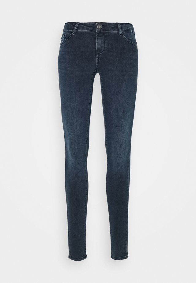 NMEVE SKINNY  - Jeans Skinny Fit - blue black denim