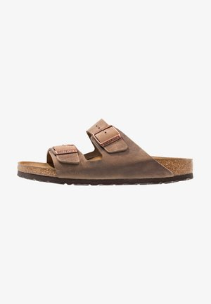 ARIZONA  NARROW FIT - Sandalias planas - tabacco brown