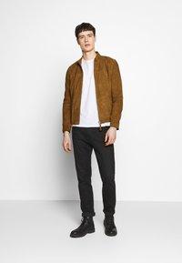 Serge Pariente - SYLVINO - Leather jacket - cognac - 1