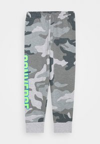 Converse - COLLEGIATE CAMO PANT - Tracksuit bottoms - dark grey heather - 1