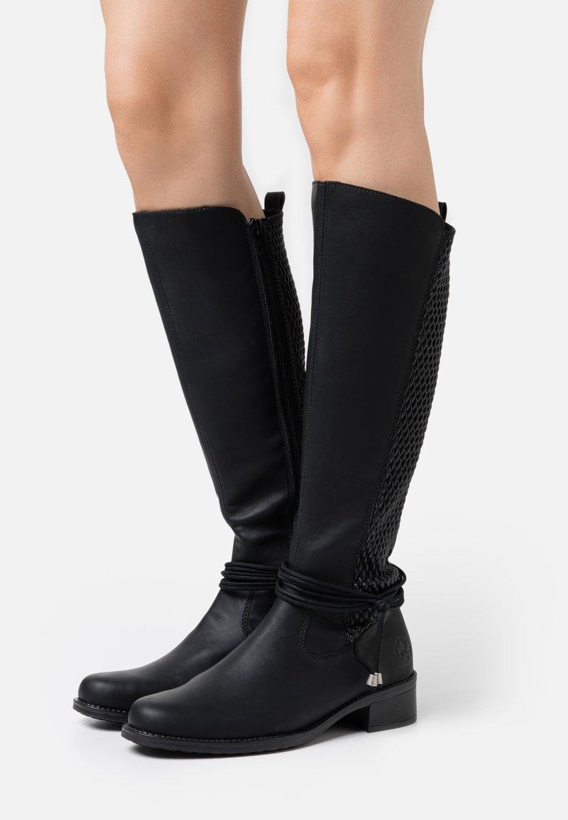 Rieker - Laarzen - schwarz
