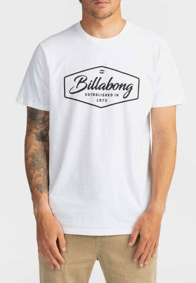 Billabong - TRADEMARK - Print T-shirt - white