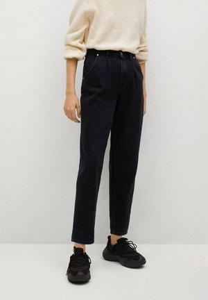 REGINA - Relaxed fit jeans - black denim