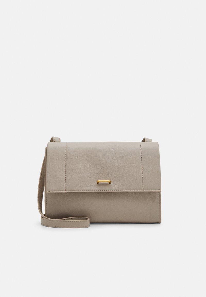 Zign - LEATHER - Clutch - taupe