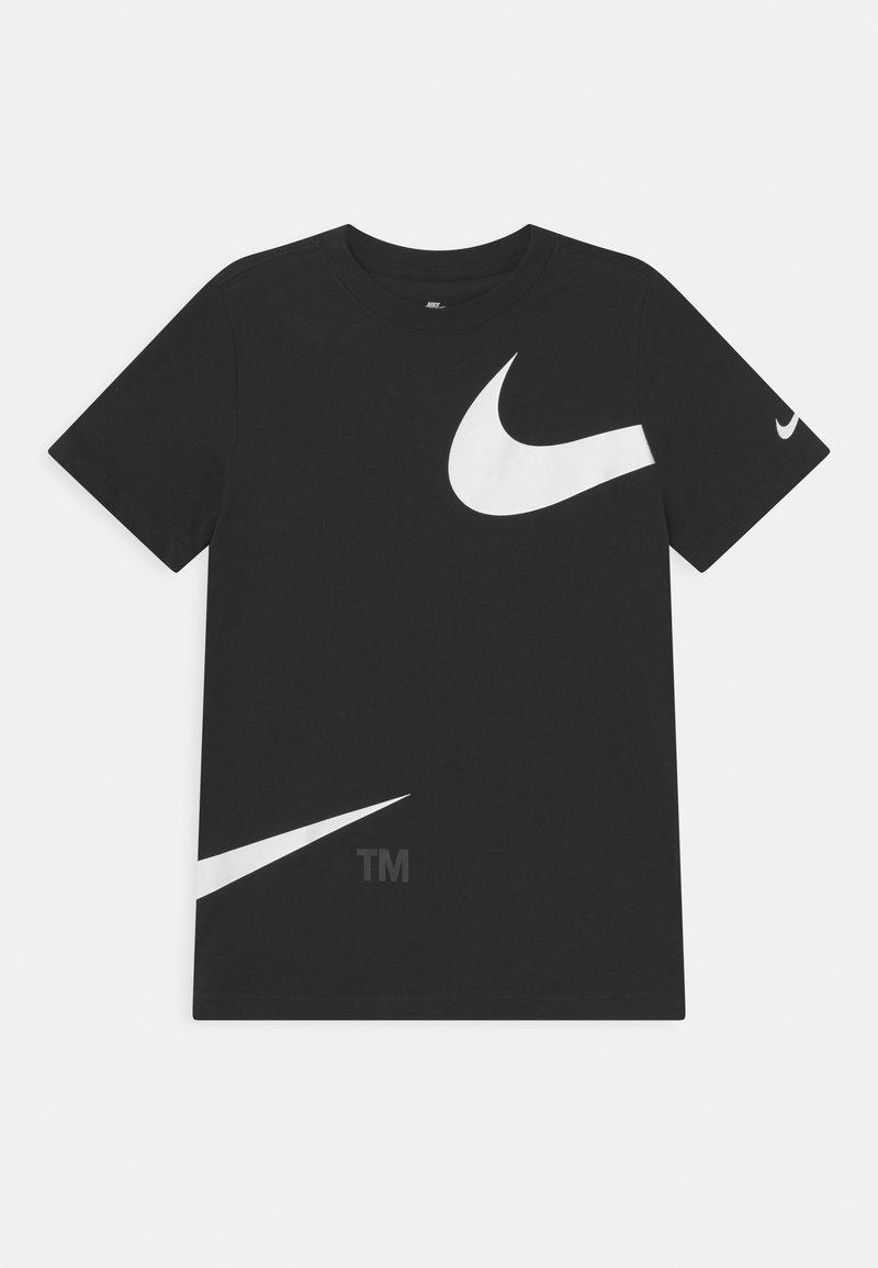 Nike Sportswear - TEE  - T-shirt z nadrukiem - black