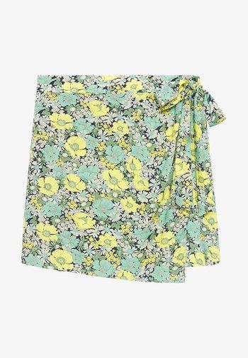 Wrap skirt - vert
