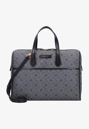 ANNA  - Laptop bag - black gold