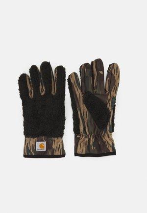 JACKSON GLOVES UNISEX - Gloves - black/camo unite