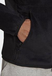 adidas Performance - ADIDAS Z.N.E. FULL-ZIP VELOUR HOODIE - Zip-up hoodie - black - 7