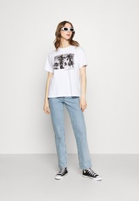 Even&Odd - Print T-shirt - white - 1