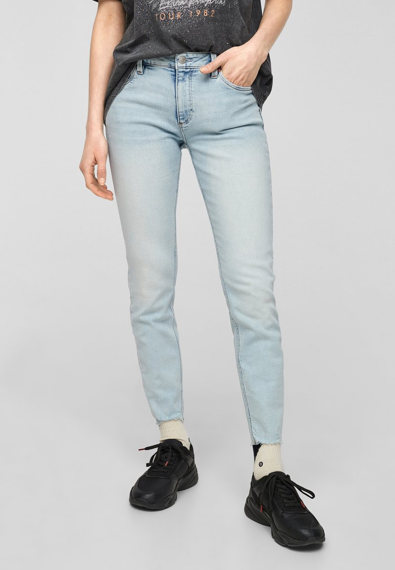 QS by s.Oliver - Jeans Skinny Fit - light blue