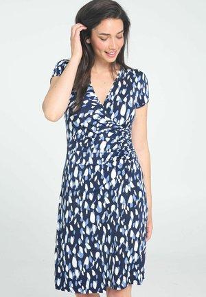MIT PRINT - Korte jurk - blue