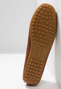 Lauren Ralph Lauren - BRIONY - Nazouvací boty - deep saddle tan - 6