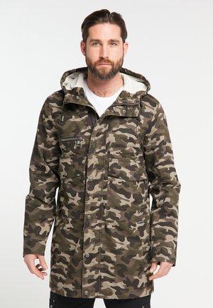 Winter coat - camouflage