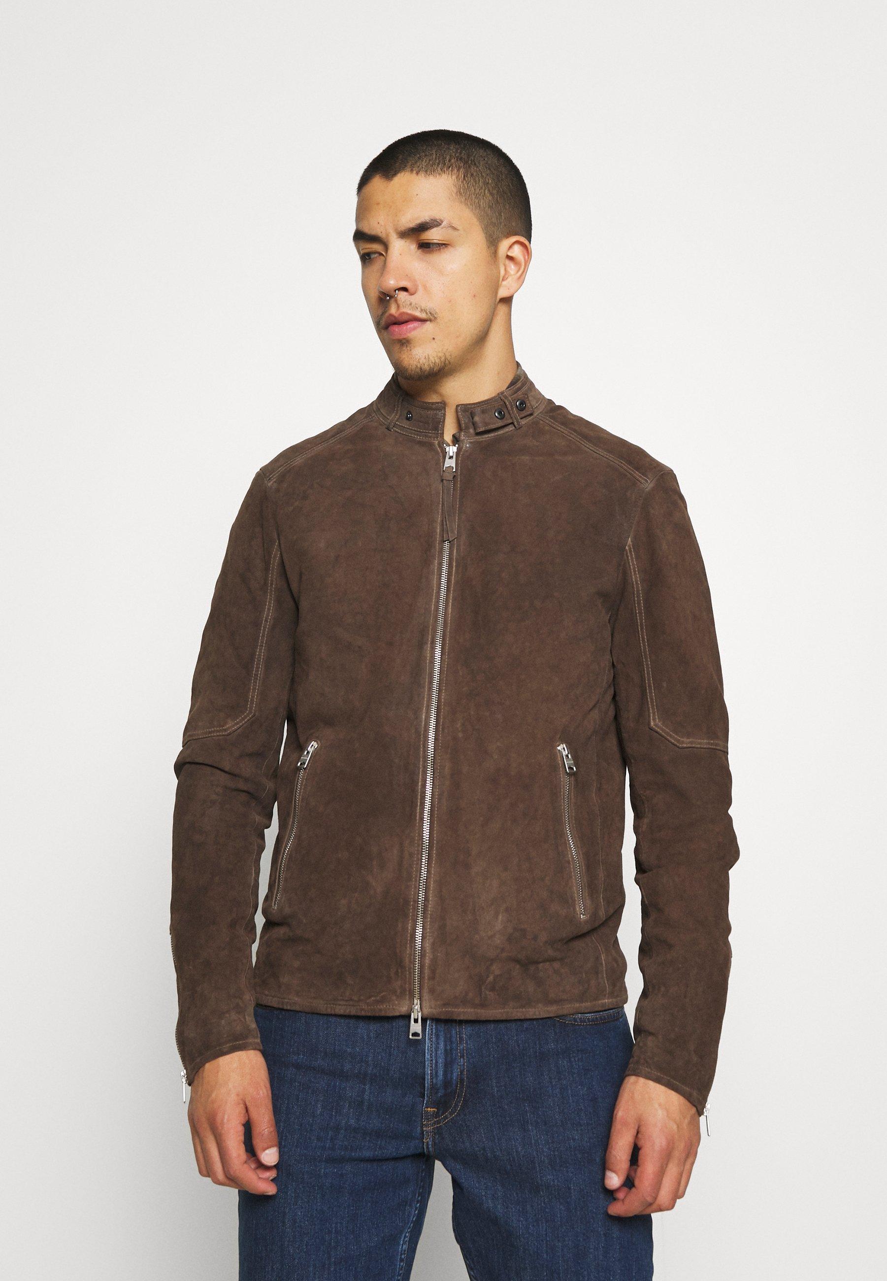 Men GRANTHAM JACKET - Leather jacket