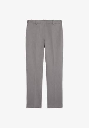 Trousers - middle stone melange