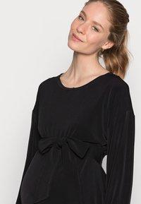 Lindex - DRESS MOM LISA - Trikoomekko - black - 3