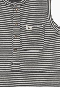 Turtledove - REVERSIBLE STRIPE SHORTIE BABY  - Overal - black/white - 4