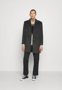Only & Sons - Classic coat - dark grey melange - 1