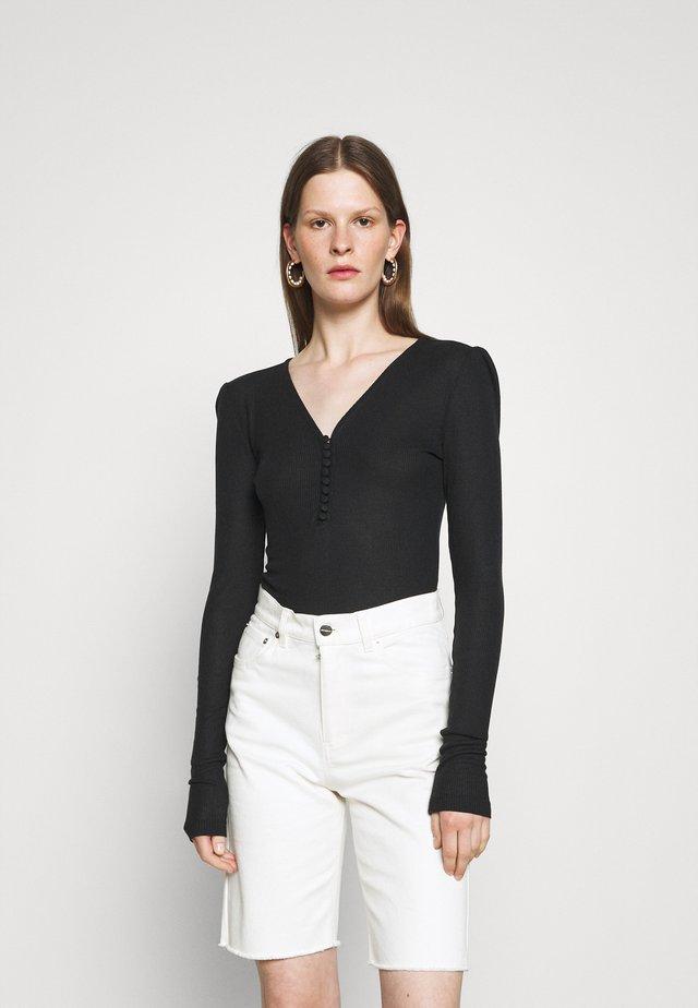 KATKA  - Long sleeved top - black