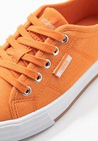 Esprit - SIMONA LACE UP - Trainers - rust orange - 2