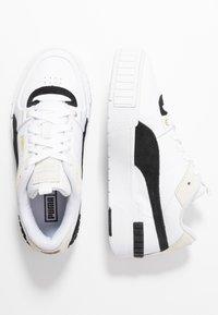 Puma - CALI SPORT HERITAGE  - Sneakers laag - white/black - 5