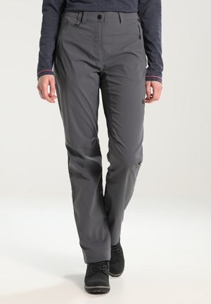 ACTIVATE LIGHT PANTS WOMEN - Bukse - dark iron