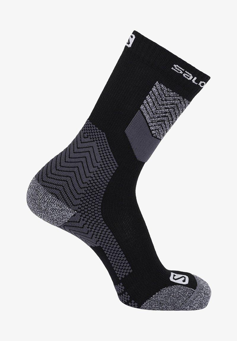Salomon - Sports socks - black/forged iron