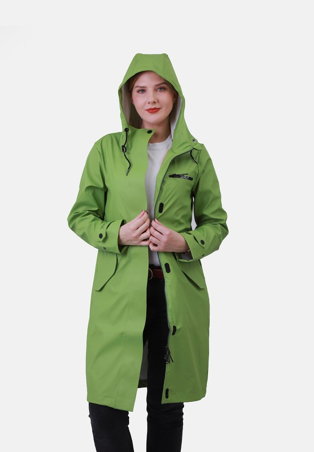 Regenjas - spinatgrün