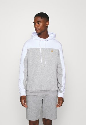 Hoodie - light grey/white
