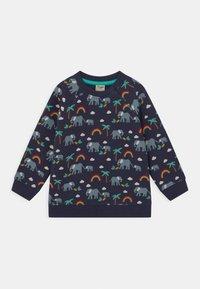 Frugi - REX RAINBOW AND ELEPHANT UNISEX - Sweatshirt - indigo - 0