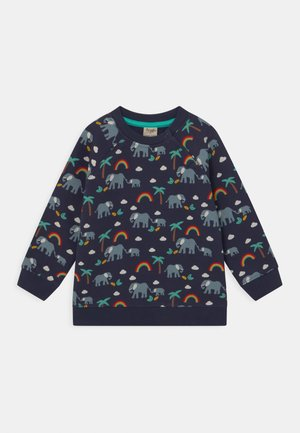 REX RAINBOW AND ELEPHANT UNISEX - Sweatshirt - indigo