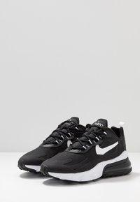 Nike Sportswear - AIR MAX 270 REACT - Zapatillas - black/white - 2