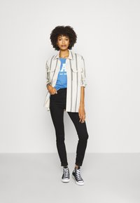 GAP - OUTLINE TEE - Camiseta estampada - cabana blue - 1