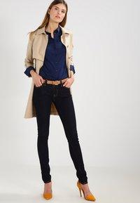 Mos Mosh - TILDA - Button-down blouse - navy - 1