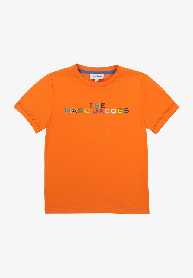 SHORT SLEEVES - T-shirt imprimé - orange flash