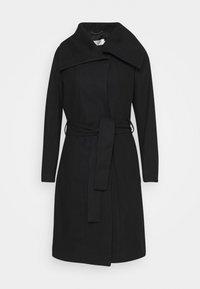 ZELENA COAT - Klasický kabát - black