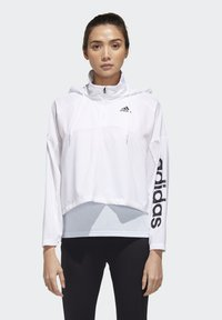 adidas Performance - ACTIVATED TECH WINDBREAKER - Windbreaker - white - 0