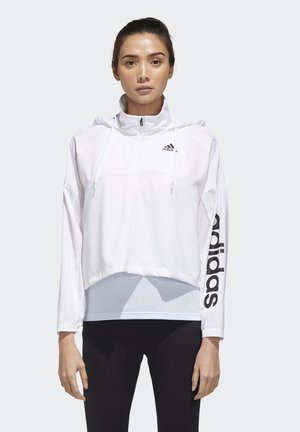 ACTIVATED TECH WINDBREAKER - Windbreaker - white