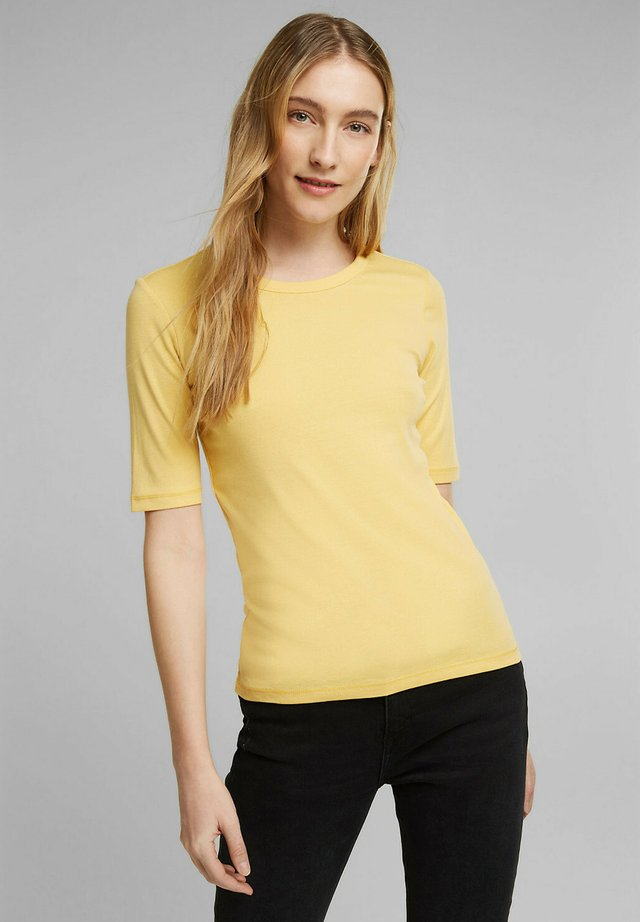 T-shirt basic - sunflower yellow
