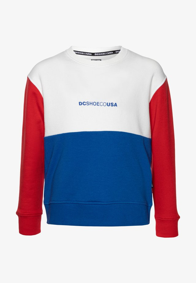 KIRTLAND CREW BOY - Sweatshirt - white