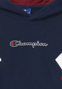 Champion - ROCHESTER CHAMPION LOGO HOODED - Mikina skapucí - dark blue - 3