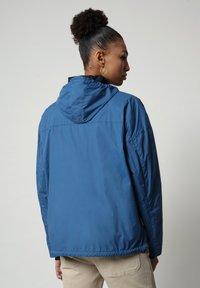 Napapijri - RAINFOREST CIRCULAR - Windbreaker - poseidon blue - 2