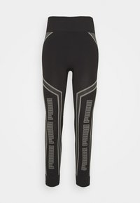 Puma - EVOSTRIPE EVOKNIT - Leggings - black - 5