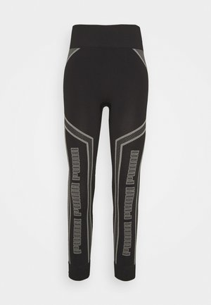 EVOSTRIPE EVOKNIT - Leggings - black