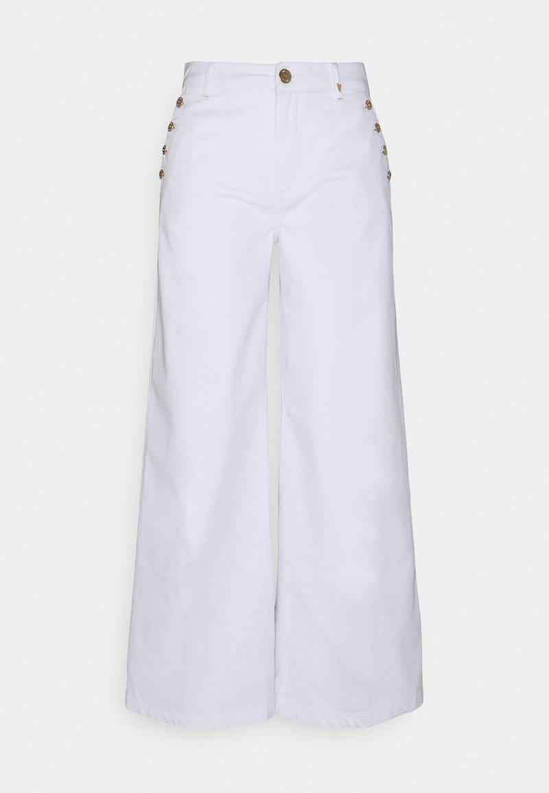 Mos Mosh - REEM VERA - Kalhoty - white