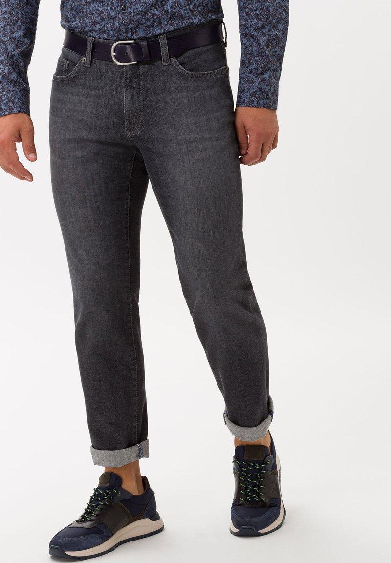 BRAX - STYLE CADIZ - Straight leg jeans - silver sea